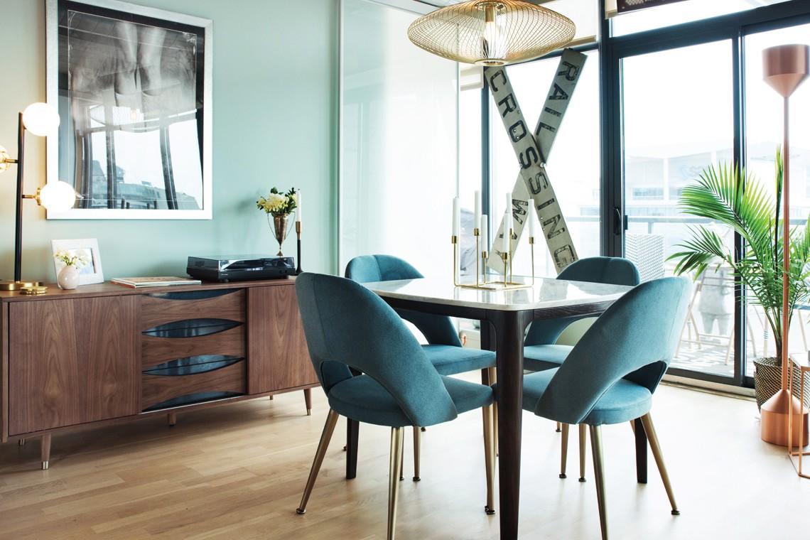 Conseils d co un condo l 39 allure chic et spacieux mobilia for Mobilia 1
