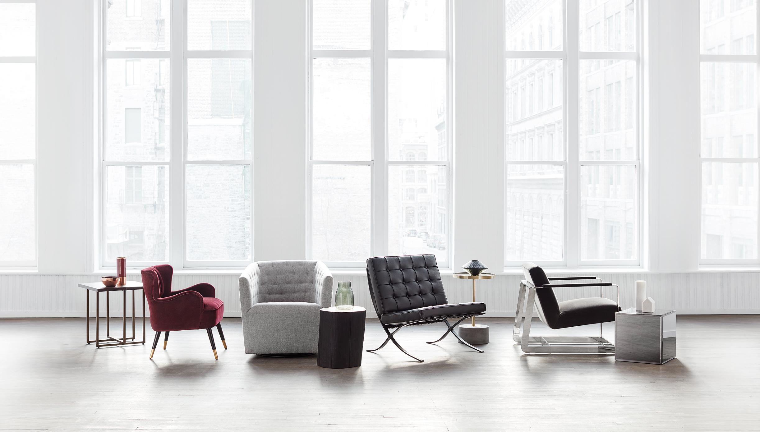 Un monde de fauteuils d'appoint