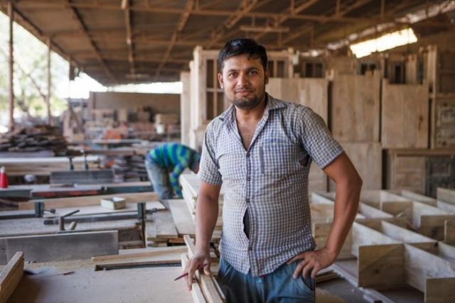 Modern India Aly Velji Worker