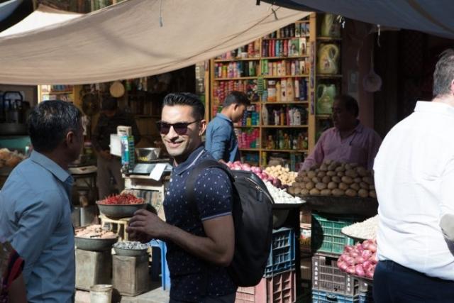 Modern India Aly Velji in India  market