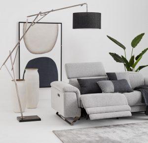 Warren reclining sofa