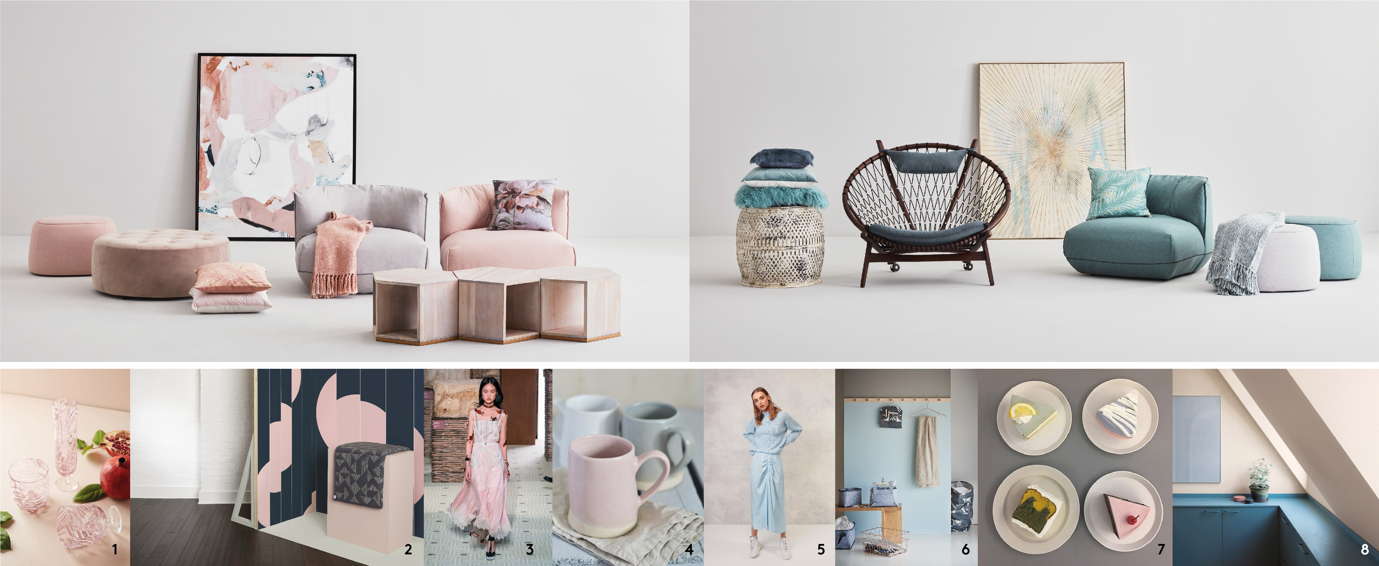 THE HYGGE AND PASTEL TREND