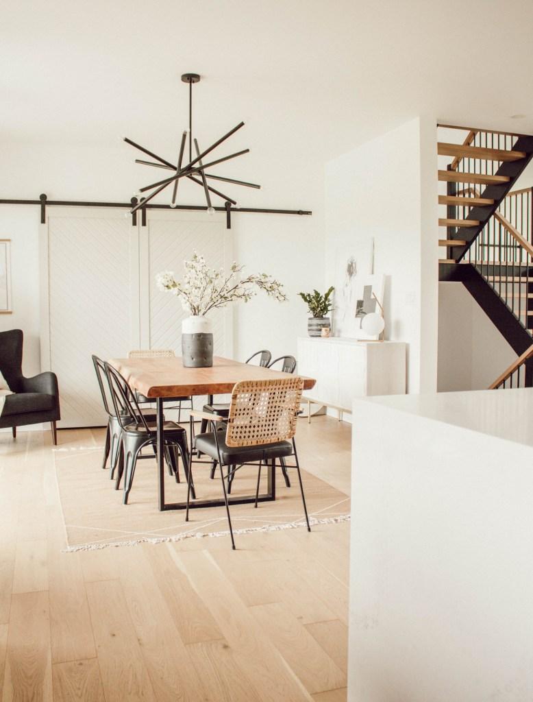 Kassandra Dekoning dining room area