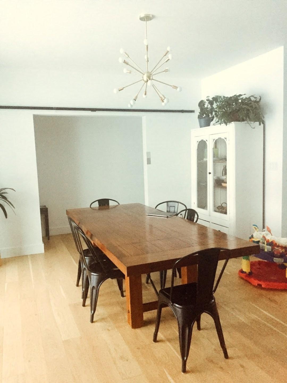 Kassandra Dekoning dining room before