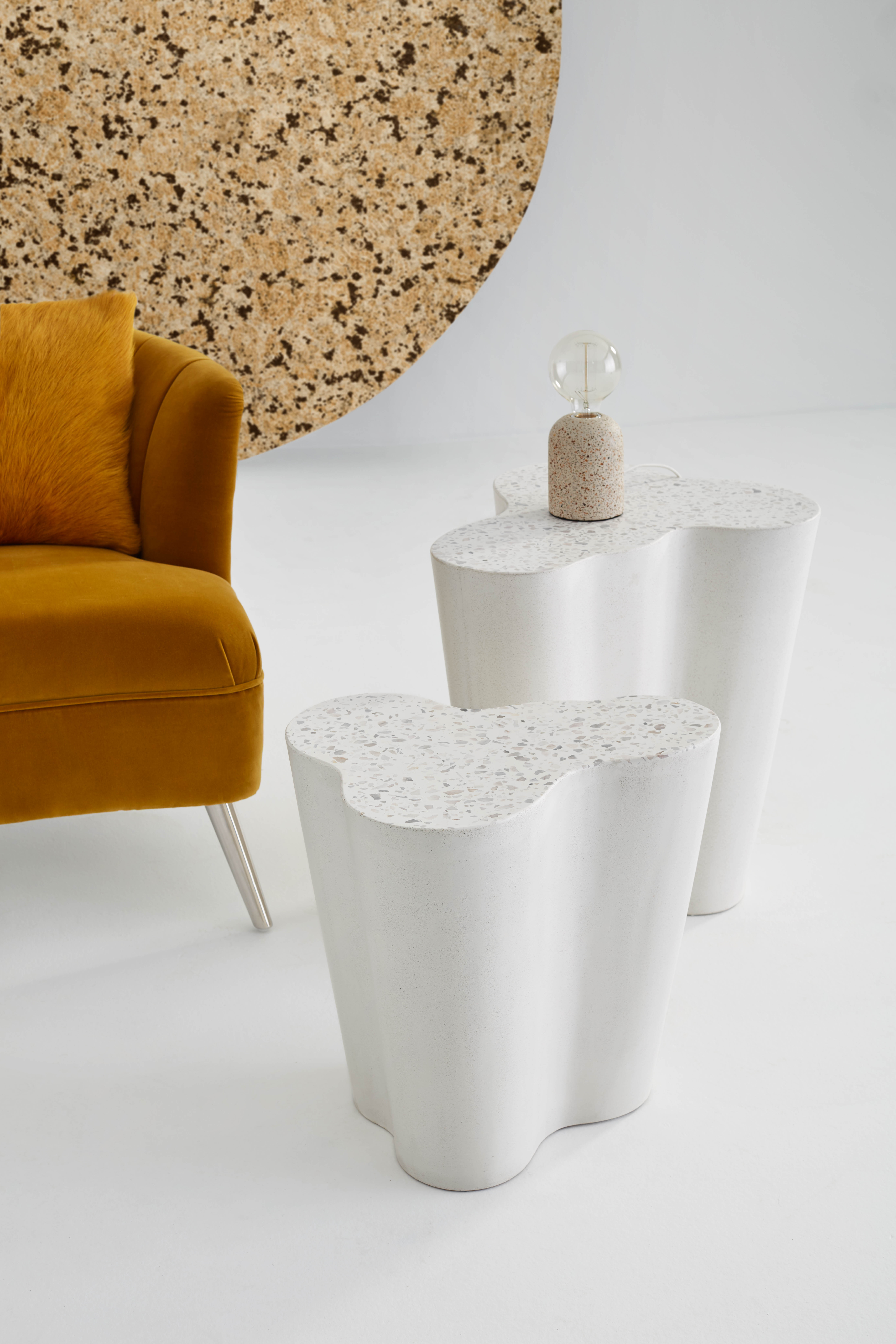 GET CREATIVE WITH MARBLE AND TERRAZZO