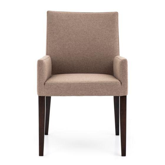 Ewa chaise à accoudoir en tissu