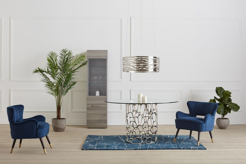 blue furniture decorating ideas