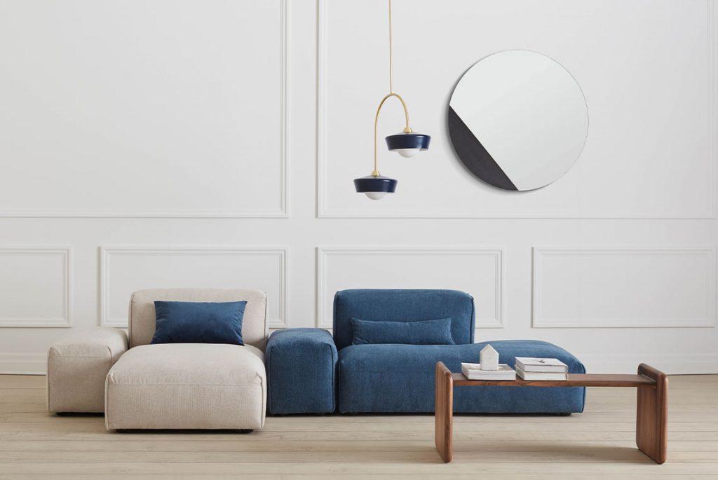 tendances mobilier bleu