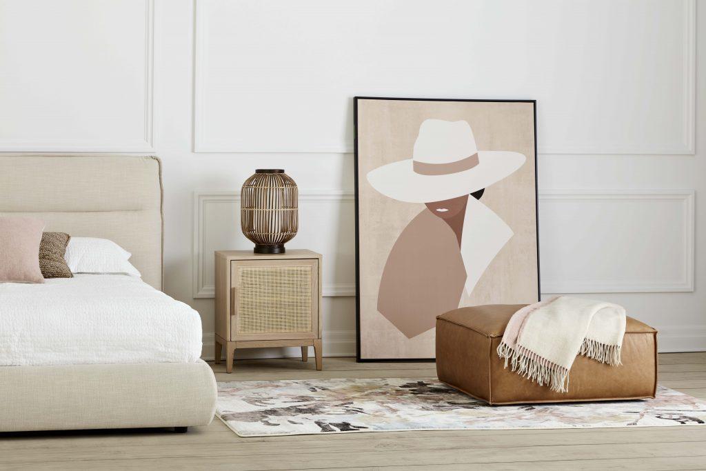 mobilia modern bedroom wall decor ideas