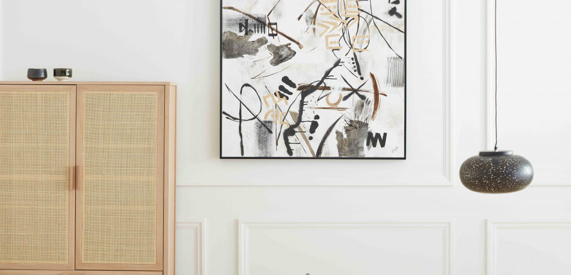 idées de décoration murale pour intérieur moderne mobilia