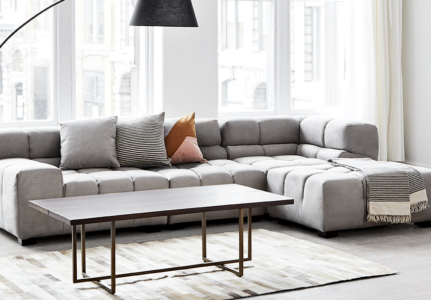 grey sofa living room meubles de salon modernes design contemporain mobilia 12165