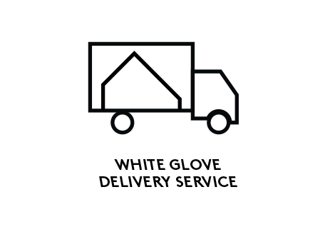 Free in-store pick up, White gloves delivery service, No fuss return policy